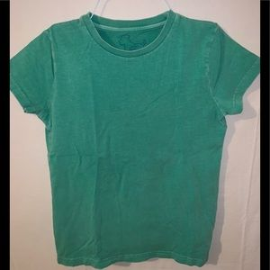 Mini Boden Green T Shirt short sleeve 7 8 Boys